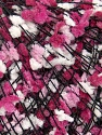 Fiber Content 80% Acrylic, 20% Polyester, White, Pink Shades, Brand ICE, Black, Yarn Thickness 3 Light  DK, Light, Worsted, fnt2-35637