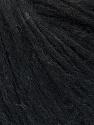 Fiber Content 27% Acrylic, 23% Wool, 23% Nylon, 15% Alpaca Superfine, 12% Viscose, Brand ICE, Black, Yarn Thickness 4 Medium  Worsted, Afghan, Aran, fnt2-35662