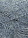 Fiber Content 70% Angora, 30% Acrylic, Brand ICE, Grey Melange, Blue, Yarn Thickness 2 Fine  Sport, Baby, fnt2-35684
