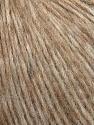 Fiber Content 8% Merino Wool, 52% Baby Alpaca, 40% Nylon, Yarn Thickness Other, Brand ICE, Beige Melange, fnt2-35713