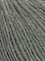 Fiber Content 35% Acrylic, 35% Merino Wool, 30% Baby Alpaca, Yarn Thickness Other, Brand ICE, Grey, fnt2-35717