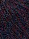 Fiber Content 35% Acrylic, 30% Wool, 20% Alpaca Superfine, 15% Viscose, Maroon, Brand ICE, Burgundy, Yarn Thickness 5 Bulky  Chunky, Craft, Rug, fnt2-35728