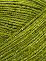 Fiber Content 60% Polyester, 40% Lurex, Brand ICE, Forest Green, Yarn Thickness 5 Bulky  Chunky, Craft, Rug, fnt2-35782