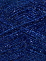 Fiber Content 60% Polyester, 40% Lurex, Brand ICE, Dark Navy, Yarn Thickness 5 Bulky  Chunky, Craft, Rug, fnt2-35786