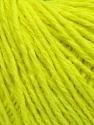 Fiber Content 50% Wool, 50% Acrylic, Neon Yellow, Brand ICE, Yarn Thickness 4 Medium  Worsted, Afghan, Aran, fnt2-35918