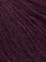 Fiber Content 65% Acrylic, 5% Polyester, 10% Viscose, 10% Wool, 10% Alpaca, Maroon, Brand ICE, Yarn Thickness 3 Light  DK, Light, Worsted, fnt2-35951