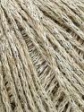 Fiber Content 60% Acrylic, 20% Wool, 10% Cotton, 10% Metallic Lurex, Silver, Yarn Thickness Other, Brand ICE, Beige, fnt2-35953