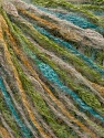 Fiber Content 40% Polyamide, 30% Acrylic, 20% Wool, 10% Viscose, Turquoise, Yarn Thickness Other, Brand ICE, Green, Gold, Camel, fnt2-35969