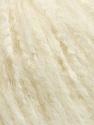Fiber Content 45% Acrylic, 25% Wool, 20% Mohair, 10% Polyamide, Brand ICE, Cream, Yarn Thickness 4 Medium  Worsted, Afghan, Aran, fnt2-35971