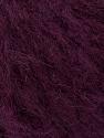 Fiber Content 45% Acrylic, 25% Wool, 20% Mohair, 10% Polyamide, Maroon, Brand ICE, Yarn Thickness 4 Medium  Worsted, Afghan, Aran, fnt2-35982