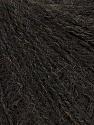 Fiber Content 35% Merino Wool, 35% Acrylic, 30% Baby Alpaca, Brand ICE, Dark Brown, Yarn Thickness 2 Fine  Sport, Baby, fnt2-36056