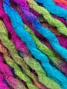 Fiber Content 100% Acrylic, Turquoise, Salmon, Brand ICE, Green, Fuchsia, Yarn Thickness 5 Bulky  Chunky, Craft, Rug, fnt2-36083