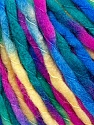Fiber Content 100% Acrylic, Yellow, Brand ICE, Green, Fuchsia, Blue, Yarn Thickness 5 Bulky  Chunky, Craft, Rug, fnt2-36084