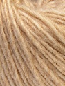Fiber Content 50% Merino Wool, 25% Acrylic, 25% Alpaca, Brand ICE, Cream, Yarn Thickness 3 Light  DK, Light, Worsted, fnt2-36148
