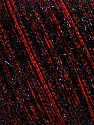 Fiber Content 65% Polyester, 35% Metallic Lurex, Red, Brand ICE, Black, Yarn Thickness 4 Medium  Worsted, Afghan, Aran, fnt2-36177