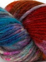 In this yarn a 100% Wool yarn is used. Dyeing process is totally hand made with natural plants and NO chemicals were used. For this reason, please be advised that some white parts may remain. Fiber Content 100% Wool, Turquoise, Lilac, Brand ICE, Copper, Brown, fnt2-36265