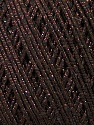 Fiber Content 70% Acrylic, 20% Metallic Lurex, 10% Cotton, Yarn Thickness Other, Brand ICE, Brown, fnt2-36267
