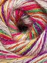 Fiber Content 70% Acrylic, 5% Lurex, 25% Angora, Red, Purple, Orange, Brand ICE, Cream, Yarn Thickness 2 Fine  Sport, Baby, fnt2-36291