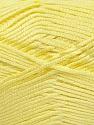 Fiber Content 100% Acrylic, Brand ICE, Baby Yellow, fnt2-36380