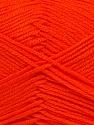 Fiber Content 100% Acrylic, Neon Orange, Brand ICE, fnt2-36399