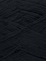 Fiber Content 78% Polyamide, 22% Acrylic, Brand ICE, Black, fnt2-36416