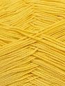 Fiber Content 78% Polyamide, 22% Acrylic, Yellow, Brand ICE, fnt2-36419