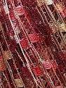 Trellis  Fiber Content 95% Polyester, 5% Lurex, Pink, Brand ICE, Cream, Camel, Burgundy, fnt2-36476