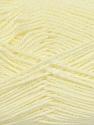 Fiber Content 90% Acrylic, 10% Polyamide, Brand ICE, Cream, fnt2-36499