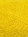 Fiber Content 90% Acrylic, 10% Polyamide, Yellow, Brand ICE, fnt2-36504