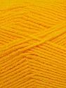 Fiber Content 90% Acrylic, 10% Polyamide, Brand ICE, Dark Yellow, fnt2-36505