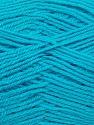 Fiber Content 90% Acrylic, 10% Polyamide, Turquoise, Brand ICE, fnt2-36507