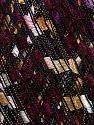 Trellis  Fiber Content 100% Polyester, Yellow, White, Purple, Brand ICE, Burgundy, fnt2-36571
