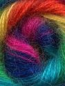 Fiber Content 75% Acrylic, 25% Angora, Yellow, Turquoise, Pink, Orange, Brand ICE, Green, Blue, fnt2-36618