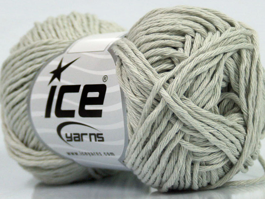 Dk Yarn : Cotton DK 70 Light Grey at Yarn Paradise